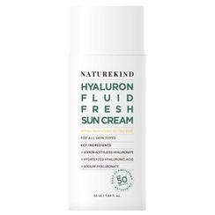 NATUREKIND - Hyaluron Fluid Fresh Sun Cream SPF50+ PA++++ 50ml