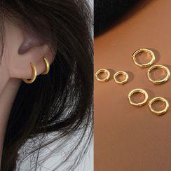 FOON - 925純銀圈環耳環