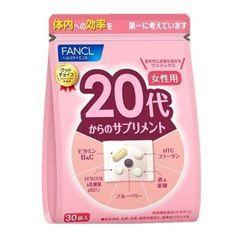 Fancl Health & Supplement - Good Choice - 20's Women Health Supplement