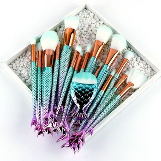 Beautrend - Set of 16: Mermaid Makeup Brush
