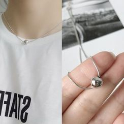 Krishya - 925纯银珠饰项链