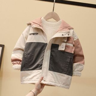 Ouron - Kids Hooded Zip Cargo Jacket