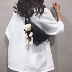Little Days - Plush Teddy Belt Bag