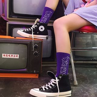 ASAIDA - 印花襪子