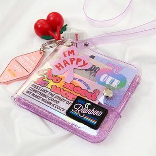 Cute Essentials - Transparent Wallet