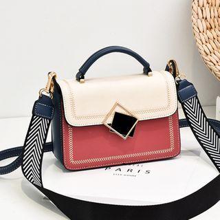 Aquilegia(アクィレジア) - Wide Strap Top Handle Crossbody Bag
