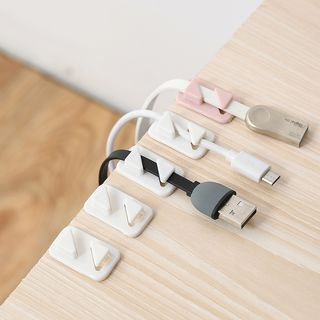Micy - Set of 12: Adhesive Cable Organizer
