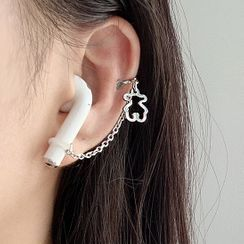 Vola12 - Alloy Chain AirPods Earphone Retainer Earring