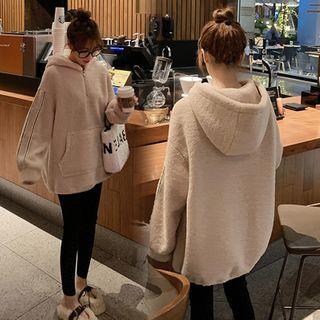 NEUF - Maternity Fleece Half-Zip Hoodie / Stomach Lift Leggings / Set