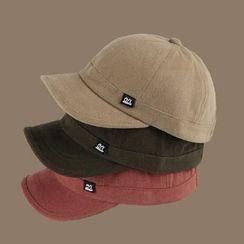 Oktokki - Plain Short Brim Baseball Cap