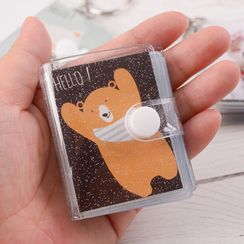 PIXON - Cartoon Print Small Photo Album Keyring