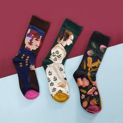QUICKSOOX - Couple Matching Printed Socks