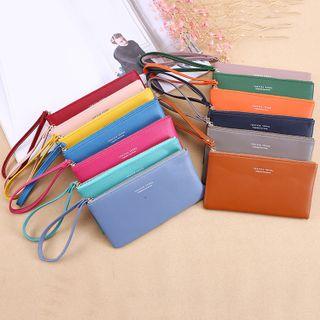 Bonnie Lonny - Faux Leather Lettering Long Wallet