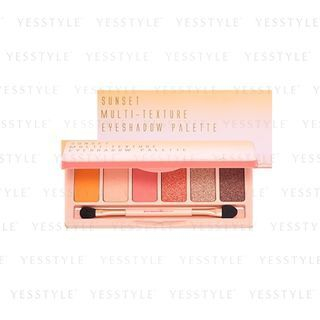 BeautyMaker - Sunset Multi-Texture Eyeshadow Palette