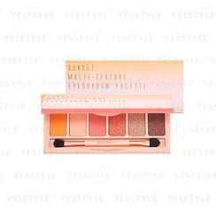 BeautyMaker - Sunset Multi-Texture Eyeshadow Palette