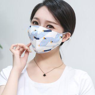 Homy Bazaar - 印花純棉口罩