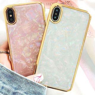 Case Study - Scallop Texture Mobile Case - iPhone X / 8 / 8 Plus / 7 / 7 Plus / 6s / 6s Plus