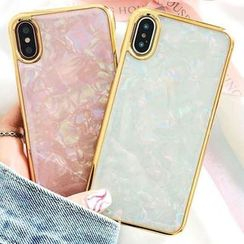 Case Study - Scallop Texture Mobile Case - iPhone X / 8 / 8 Plus / 7 / 7 Plus / 6s / 6s Plus