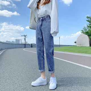 Luminato(ルミナート) - Washed Harem Jeans