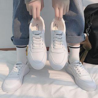Yuki Yoru - Faux Leather Sneakers