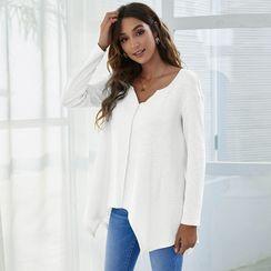 Balloww - Long-Sleeve V-Neck T-Shirt