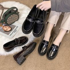 butterflute - Chain Strap Loafers