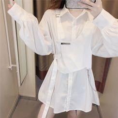 Antoinine - Buckled Shirtdress