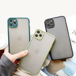 Mobby(モビー) - Matte Mobile Case - iPhone 11 Pro Max / 11 Pro / 11 / XS Max / XS / XR / X / 8 / 8 Plus / 7 / 7 Plus / 6s / 6s Plus