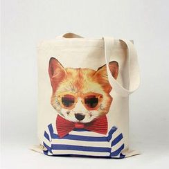 Yebeez - Printed Canvas Shopper Bag (various designs)