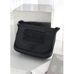 JOGUNSHOP(ジョグンショップ) - Pocket-Detail Crossbody Bag
