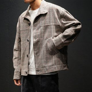 Granada - Plaid Buttoned Jacket