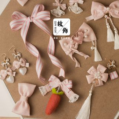 AOI - Bow Hair Clip / Drop Earring / Choker / Headband (Various Designs)