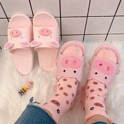Intimo - Pig Bathroom Slippers