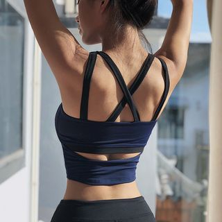 Girasol - Cross-Back Quick Dry Sports Bra