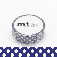 mt - mt Masking Tape : mt 1P Dot Blue Base