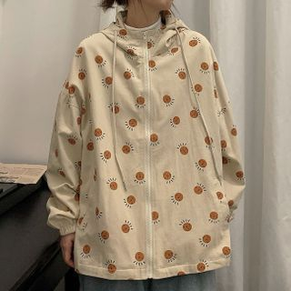 Dreamkura - All Over Print Hooded Jacket
