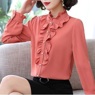 In the Mood - Ruffle Blouse