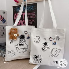 Anchara - Print Canvas Tote Bag