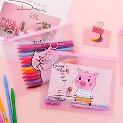 Dukson - Pig Print A5 Pencil Case