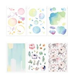 Full House - Miccudo-Watercolor Print Sticker (various designs)