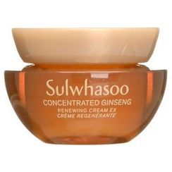 Sulwhasoo - Concentrated Ginseng Renewing Cream EX Mini - 2 Types