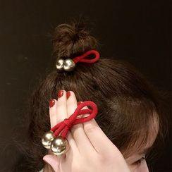 Ticoo - Metal Ball Hair Tie