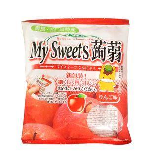 Three O'Clock - Shimonita My Sweets Konnyaku Jelly Apple Flavor