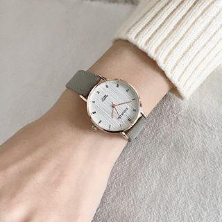MEDIR - 帶圓形手錶