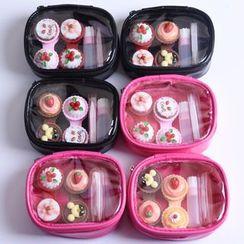KAZZED - 微型蛋糕隱形眼鏡盒