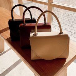 icecream12 - Flap Hand Bag with Shoulder Strap