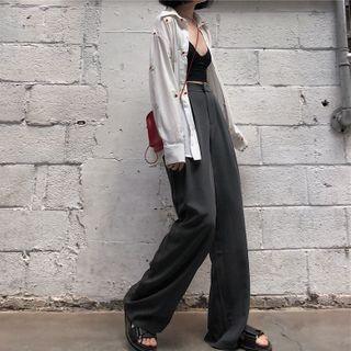 GOUB - 宽腿西装长裤