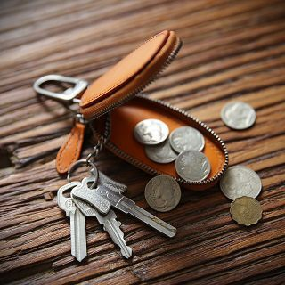 Wavecho - Genuine Leather Keys Pouch