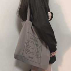 Yongolia - Printed Canvas Tote Bag