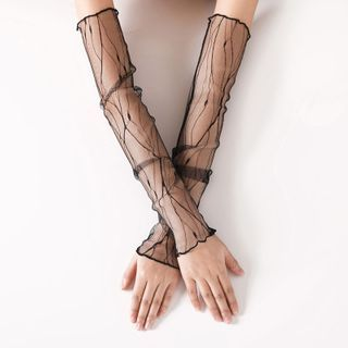 Damasco - Mesh Fingerless Gloves